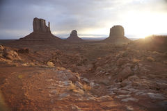 Monument Valley. Royalty Free Stock Photo