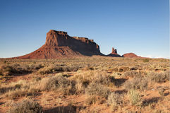 Monument Valley. Late Afternoon Arizona stock images