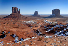 Monument valley. In the winter Stock Photography