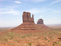 Monument Valley. Dramatic desert landscape, monument valley, Arizona royalty free stock photography