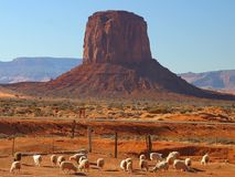 Monument Valley 2 Royalty Free Stock Images
