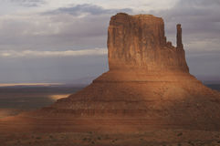 Monument Valley. In Utah, beautiful location Royalty Free Stock Photo