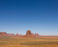 Monument Valley. On a spring sunny day Stock Image