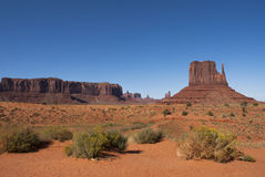 Monument Valley. Landscape Monument Valley. Navajo Tribal Park Stock Photo
