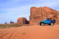 Monument Valley. Navajo Tribal Park, in Navajo country USA Stock Photos