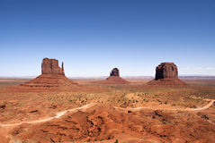 Monument Valley. Navajo Tribal Park Landscape Stock Images