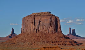 Monument Valley. Rock outcroppings in Monument Valley Royalty Free Stock Photos