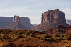 Monument Valley. Scenic landmark from USA Royalty Free Stock Images