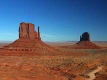Monument Valley 3 Royalty Free Stock Images