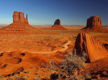 Monument Valley 5 Royalty Free Stock Photography