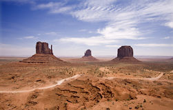 Monument Valley. View of Monument Valley, Utah Stock Images