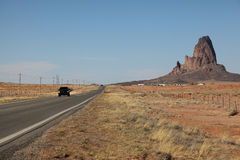 Monument Valley. Agathla Peak, on the way north to Monument Valley Royalty Free Stock Photos