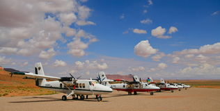 Monument Valley Airport Stock Photos