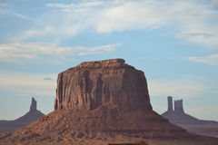 Monument Valley - amazing place in the world Stock Images