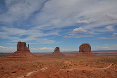 Monument Valley - amazing place in the world Stock Photos