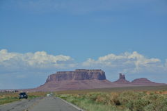 Monument Valley - amazing place in the world Royalty Free Stock Photography