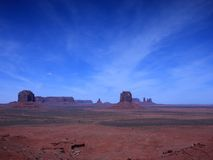 Monument Valley in Arizona Royalty Free Stock Image