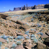 Monument Valley.Arizona Royalty Free Stock Images