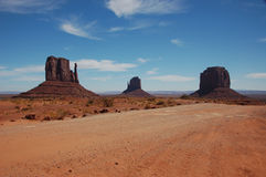 Monument Valley, Arizona. Desert Landscape at Monument Valley royalty free stock photo