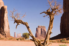 Monument valley, Arizona. View of sandstone formation in Monument Valley Stock Photo