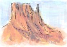 Monument valley arizona Royalty Free Stock Photo