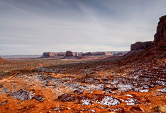 Monument Valley Arizona Navajo Nation Royalty Free Stock Images