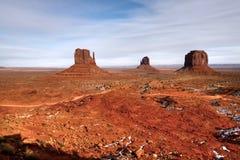 Monument Valley Arizona Navajo Nation Stock Image