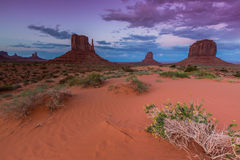 Monument Valley, Arizona, scenery Stock Photo
