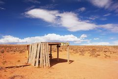 Monument Valley, Arizona. Shop in Monument Valley, Arizona Royalty Free Stock Images