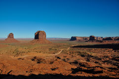 Monument Valley in Arizona, USA Royalty Free Stock Photo