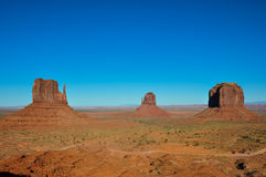 Monument Valley in Arizona, USA Royalty Free Stock Images