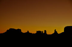 Monument Valley in Arizona, USA Royalty Free Stock Photography