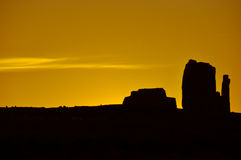 Monument Valley in Arizona, USA Royalty Free Stock Image