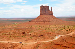 Monument Valley in Arizona USA Royalty Free Stock Photo