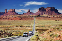 Monument Valley, Arizona, USA stock image
