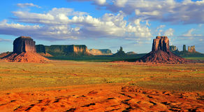 Monument Valley - Artist's Point Royalty Free Stock Image