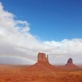 Monument Valley in the autumn Royalty Free Stock Photo