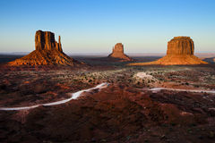 Monument valley, az Royalty Free Stock Image
