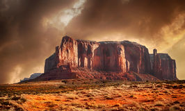 Monument Valley. Beautiful Image in Spring Of Monument Valley,Utah Royalty Free Stock Photos