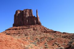 Monument Valley bute Royalty Free Stock Photo
