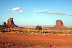 Monument Valley buttes Stock Images
