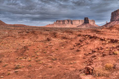 Monument Valley Dawn Stock Photos