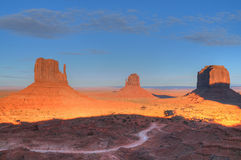 Monument Valley Dawn Stock Images