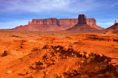 Monument Valley Desert Stock Photo