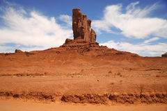 Monument Valley, desert canyon in Utah, USA Royalty Free Stock Image