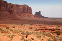 Monument Valley, desert canyon in Utah, USA Stock Photography