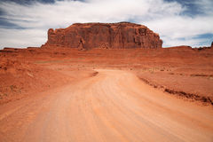 Monument Valley, desert canyon in Utah, USA Royalty Free Stock Photos