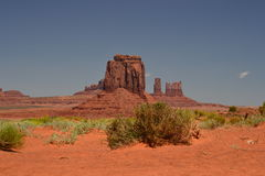 Monument Valley Desert. One picture from Monument Valley in the USA Stock Images
