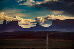 Monument Valley Forrest Gump Point Royalty Free Stock Photography