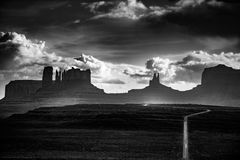 Monument Valley Forrest Gump Point Stock Image